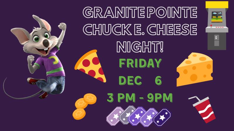 Chuck E. Cheese Night! Thumbnail Image