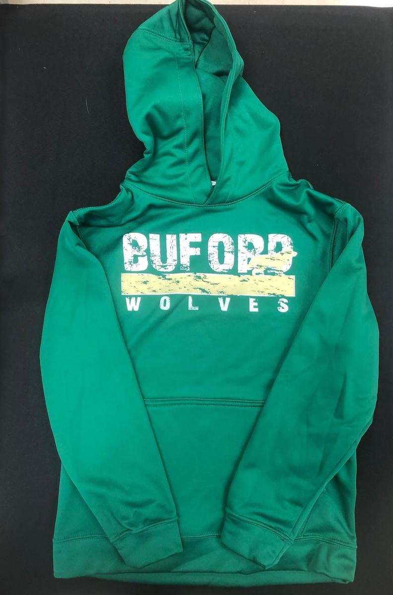 Green Dry Fit Sweatshirt