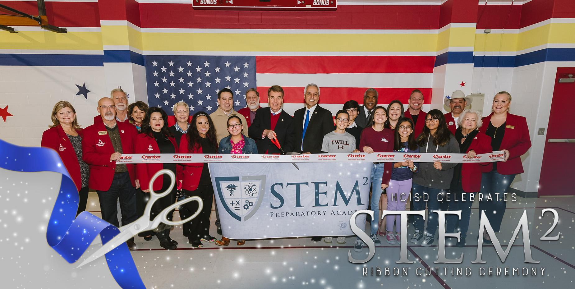 HCISD celebrates STEM2 Ribbon Cutting Ceremony