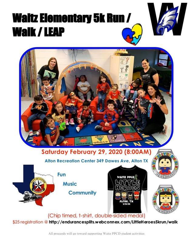 Waitz Elementary 5K Run/Walk/Leap