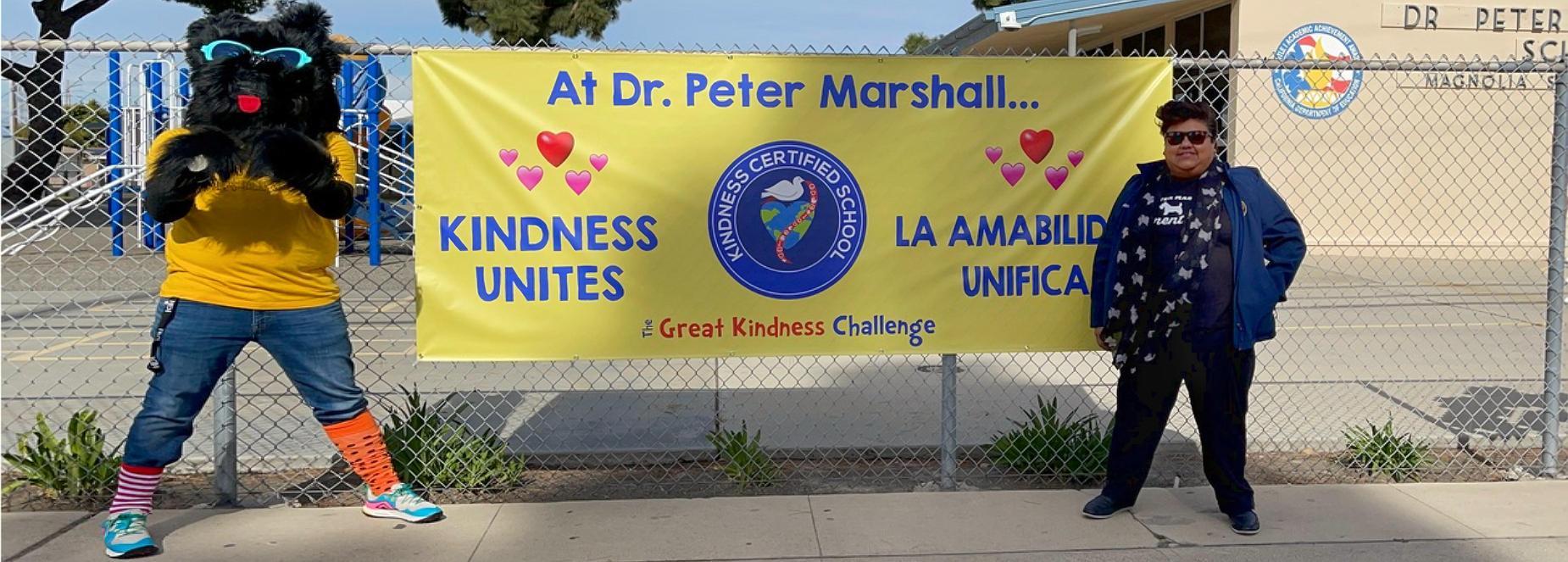 Marshall Kindness Banner