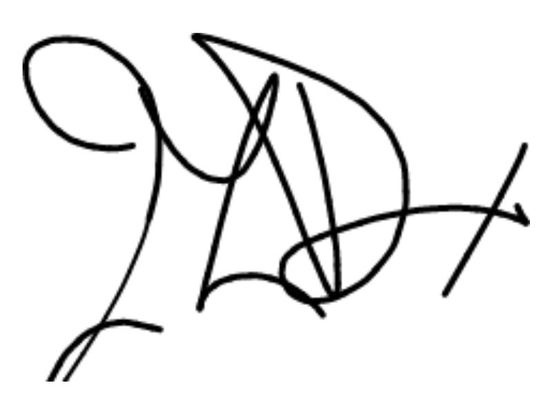 Signature Mr LeDoux
