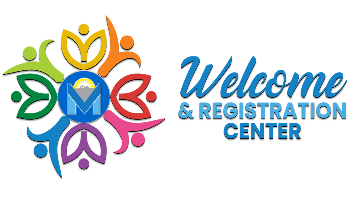 Welcome and Registration Center Logo