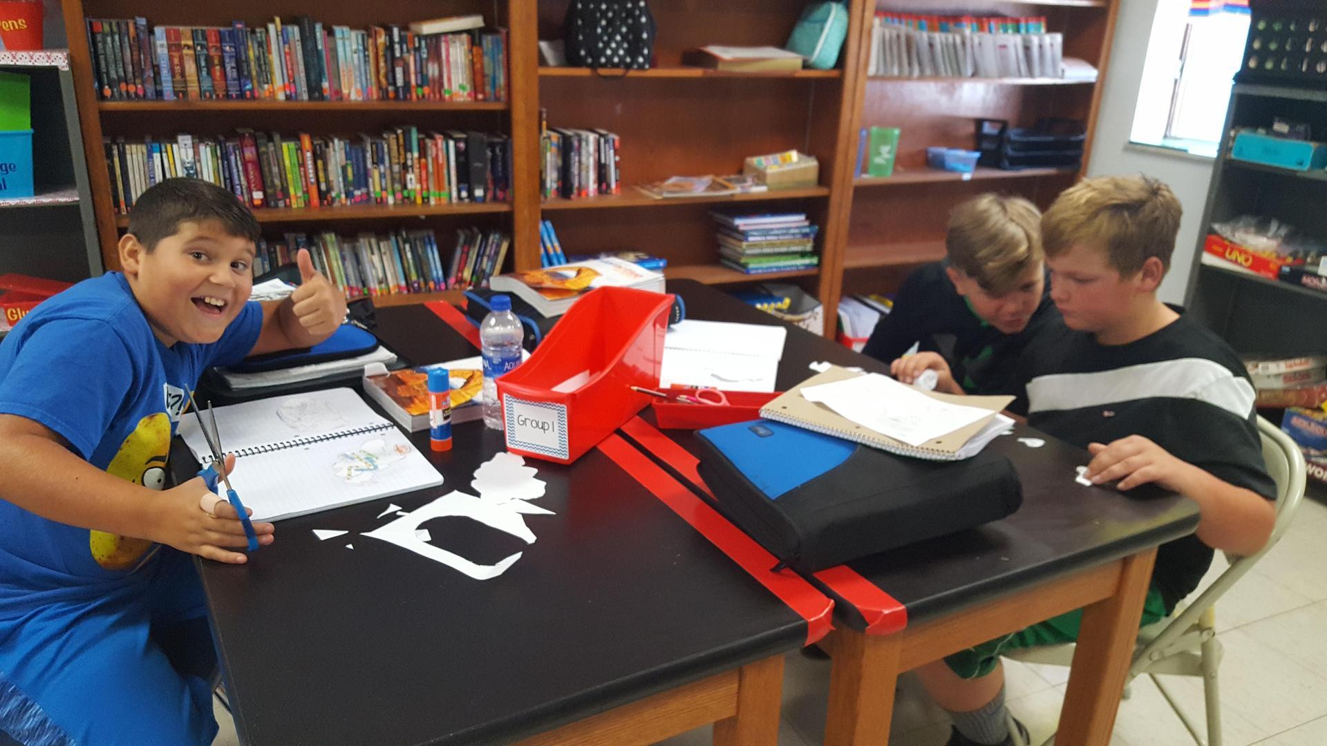 6th Grade Modeling Pangaea