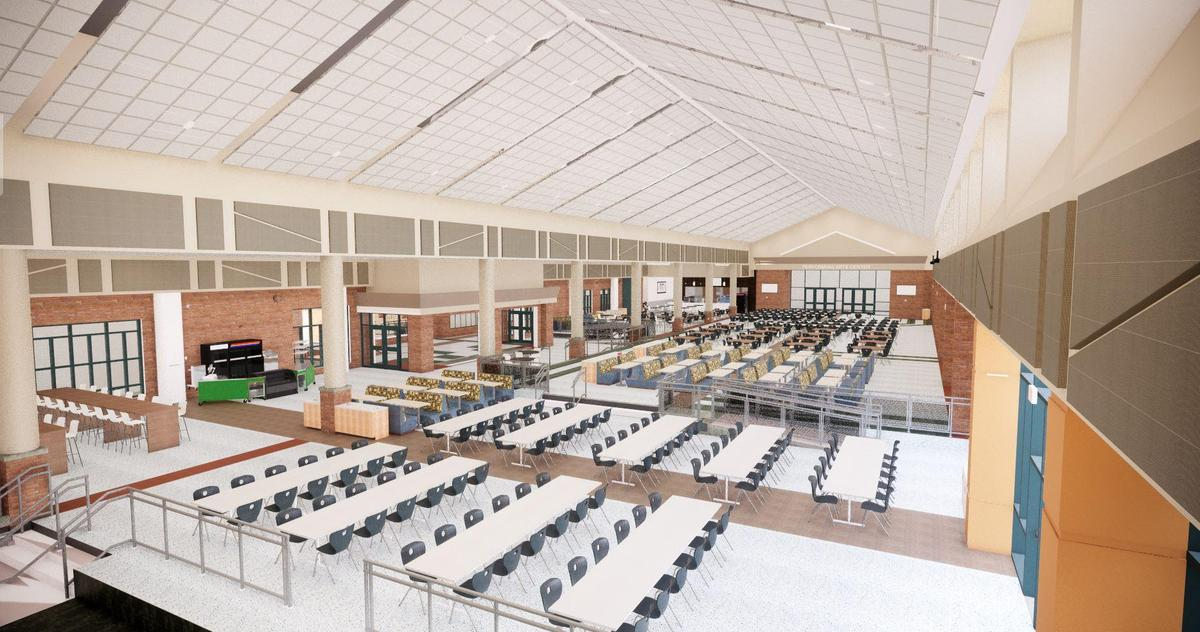 ZCHS Dining Commons From East
