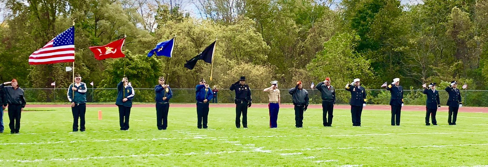 Service Bowl Color Guard 2018