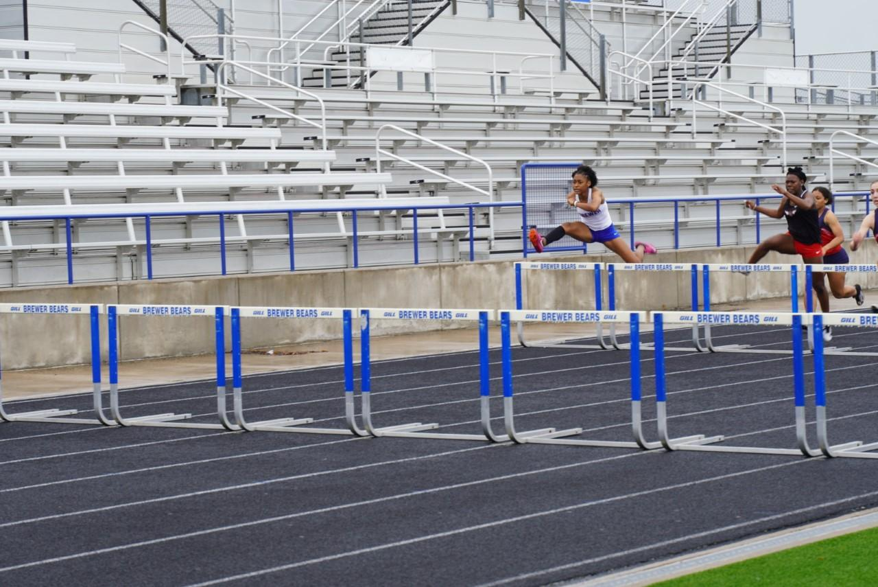 Congrats to our Brewer High School track members who qualified for the Region I-5A Track and Field Meet.  Members of the girls' track team who will compete this Friday and Saturday in Lubbock are: Tori Colman, Shot Put and Discus; Jaedyn Tipton, 100 meter hurdles; Serena Boyle, Ondreya Smith, Mya' Young, Daniella Quinones, Patty Aguilar and Amya Sroufe, 4x100 meter relay; and Boyle, Young, Smith, Quinones, Sarai Aguilar and Mattie Duncan, 4x200 meter relay.   The following members of the boys' track team qualified for regionals: KP Pimpton, Discus and Shot Put; Kameron Sinclair, Triple Jump; Isaiah Crosby and Sinclair, 100 meter; Crosby, 200 meter hurdles; Sinclair, Alec Boyle, Jordon Johnson, Isaac Brown, BJ Williams and Gabe Stowe, 4x100 meter relay; and Sinclair, Johnson, Brown, Stowe and Terrance Durham, 4x200 meter relay.   Coaches are: Katherine Olson, David Porter, Daniel Barrera, Sonny Feexico, Tommy Bowers, Teranie Thomas, Charles Weeks and Jason Wheeler.
