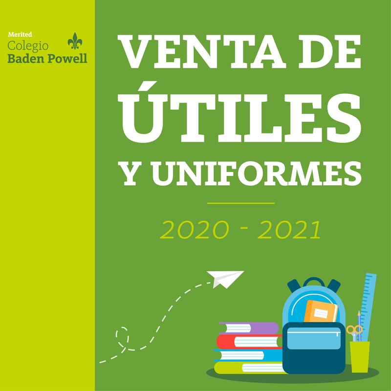 Venta de útiles y uniformes Curso Escolar 2020-2021 Featured Photo