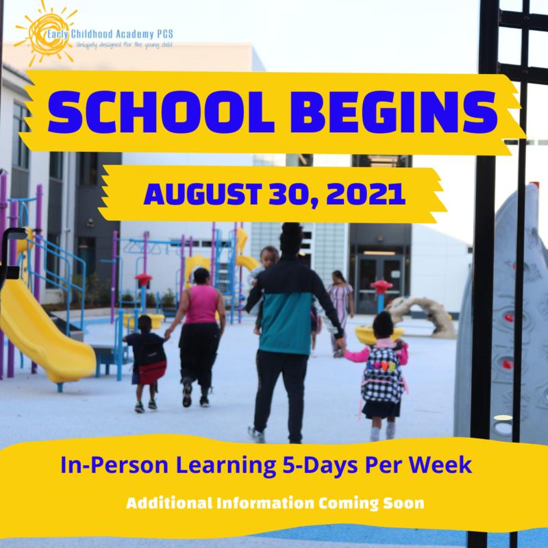 School Begins Soon! Featured Photo