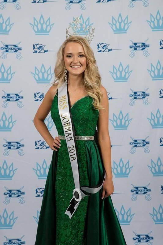 Miss Dorman 2018 Abby Nodine