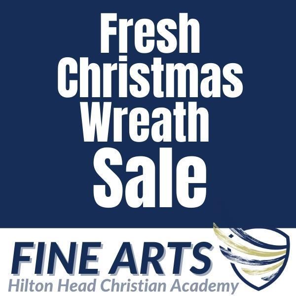 Fine Arts Christmas Wreath Sale Featured Photo