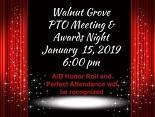 PTO and Awards Night, January 15 at 6:00 p.m.