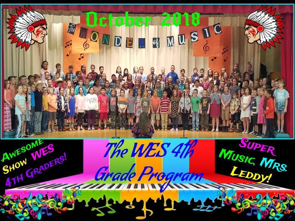 4th Grade's Music Program 2018