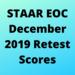 December Retest Scores