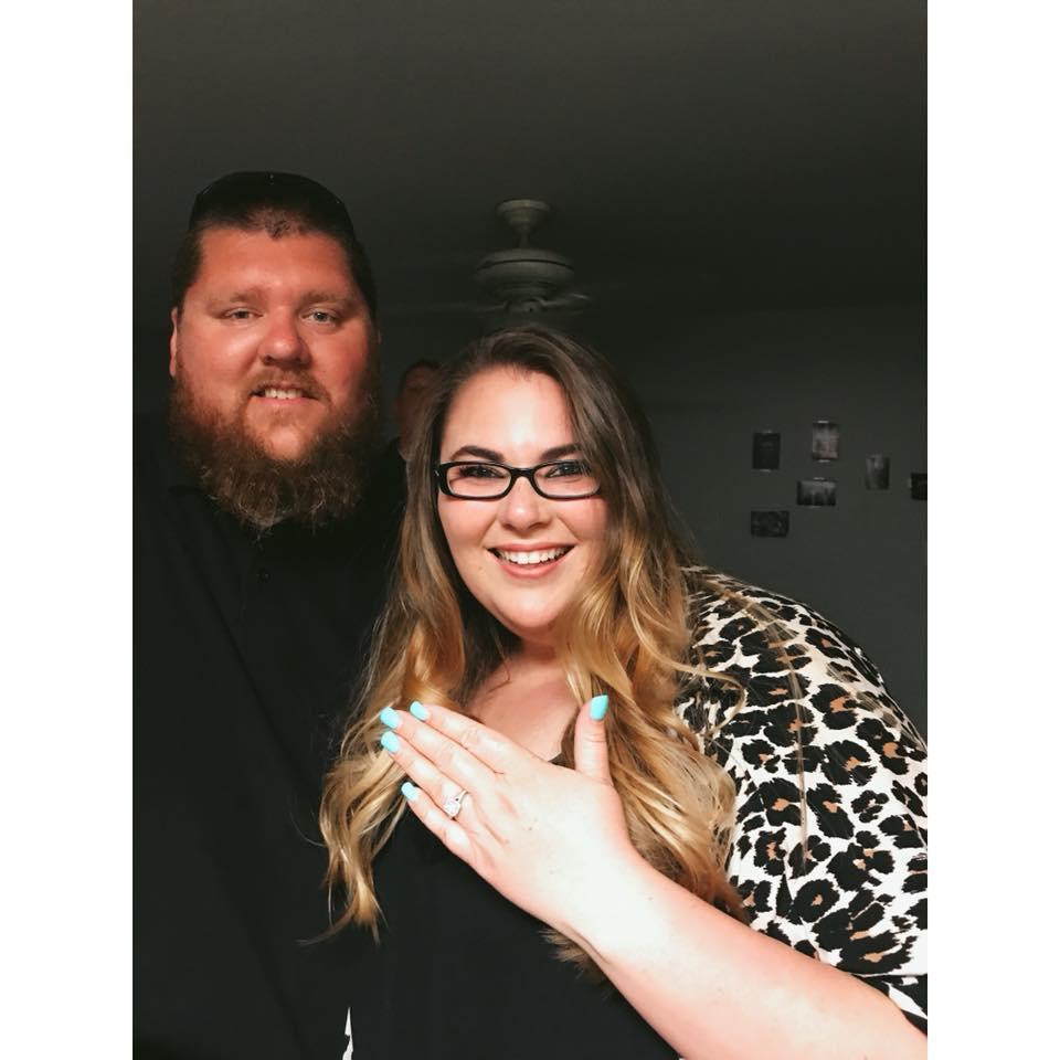 My fiance, Matt, and I!