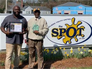 ISS Coordinator & Assistant Football Coach David Applewhite for being a member of the SPOT Friday Cookers Team.
