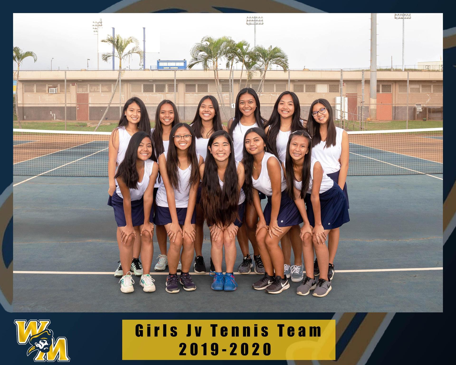 JV Girls Tennis