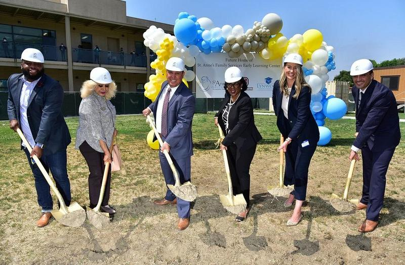 Lynwood Unified Celebrates Groundbreaking of New St. Anne's Family Services Early Learning Center Featured Photo