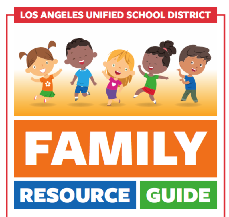 LAUSD Family Resource Guide during school closures Thumbnail Image
