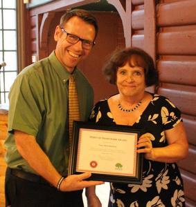 Nancy Beck Bamberg volunteer of the year