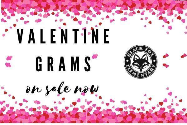Black Fox PTO Valentine Grams Featured Photo