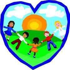 heart with kids