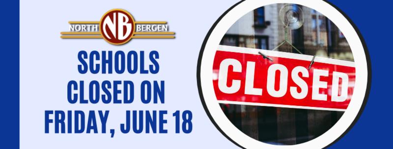 North Bergen schools closed