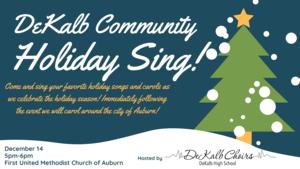DeKalb Community Holiday Sing!