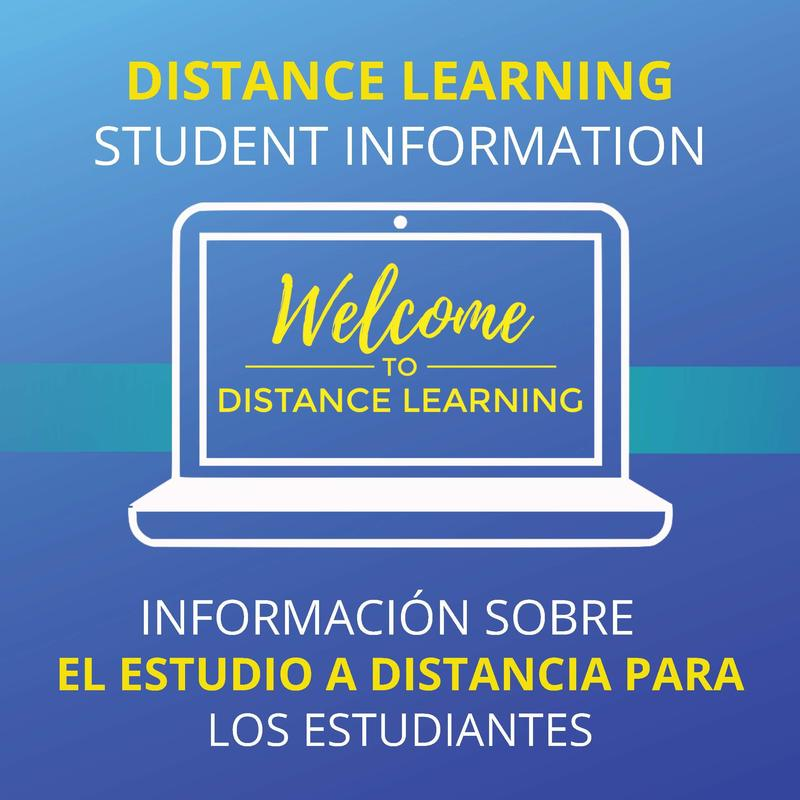 Distance Learning Student Information