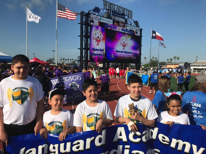 Vanguard Academy Guardians compete in the Special Olympics Track and Field event!! Featured Photo