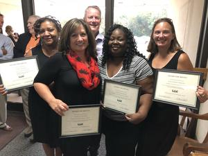 Busbee employees recognized for service