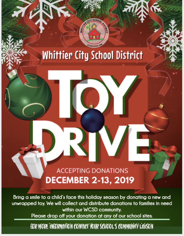WCSD Toy Drive
