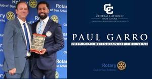 Paul Garro - Rotarian of the Year