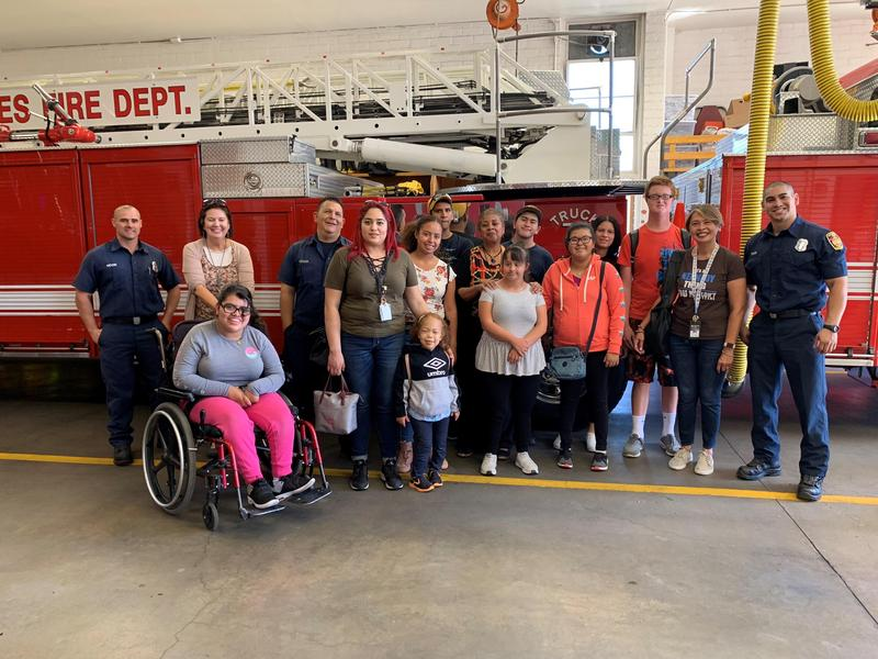 Cougar Cafe Goes to the San Fernando Mission Fire Station Featured Photo