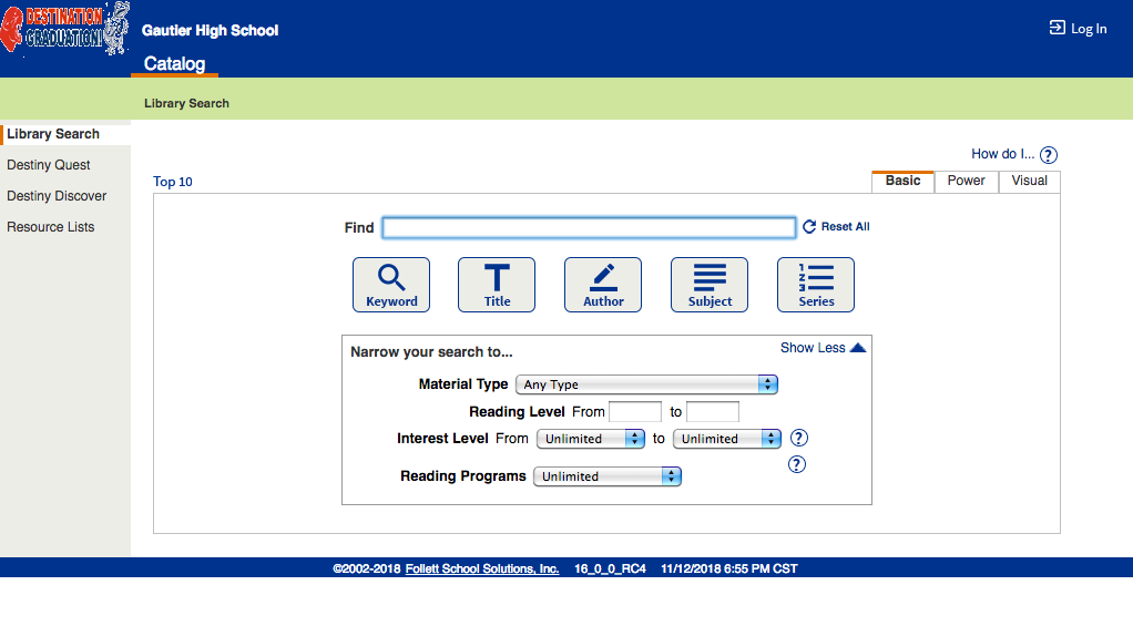 Library Catalog picture