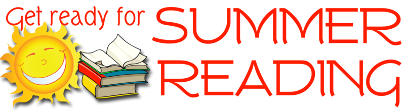 Get Ready for Summer Reading Books and sunshine