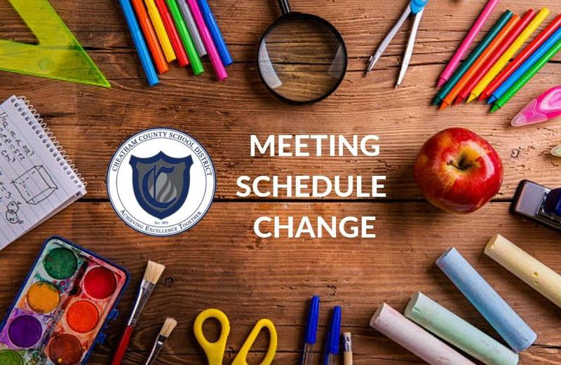 The Cheatham County School Board has changed the dates of its monthly meetings and work sessions.
