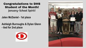 Winners at DHS