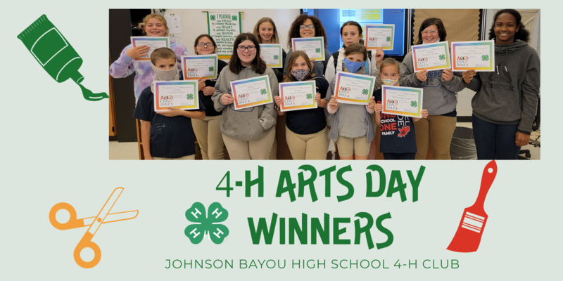 4-H Arts Day WINNERS! Thumbnail Image