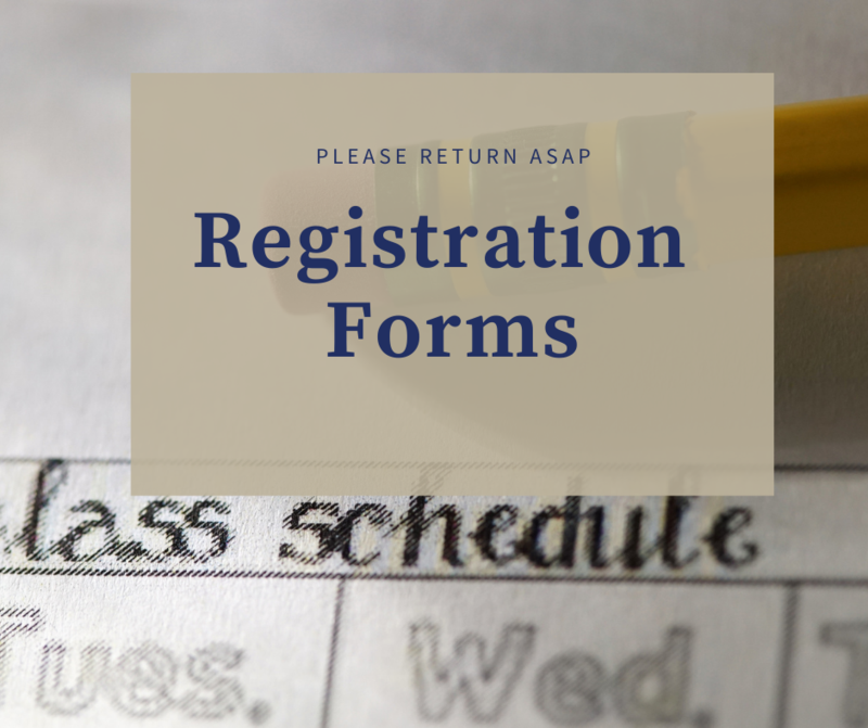 registration forms due