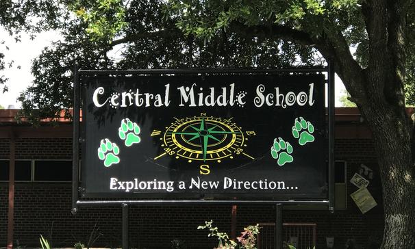 CMS School Sign