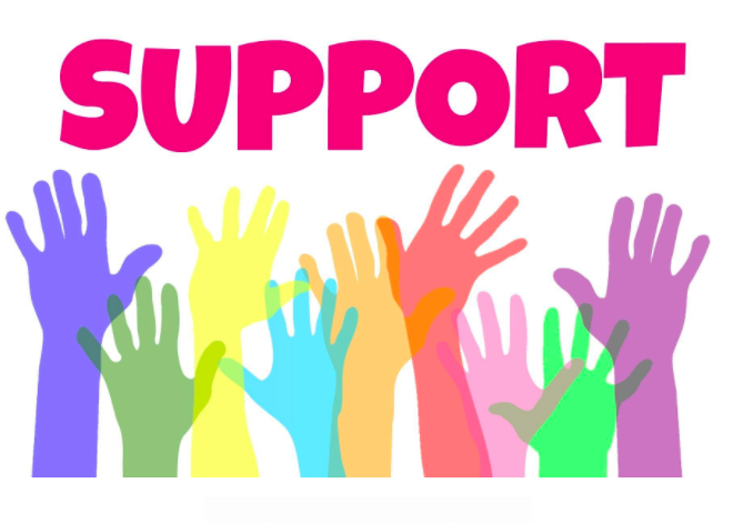 Support - hands raised
