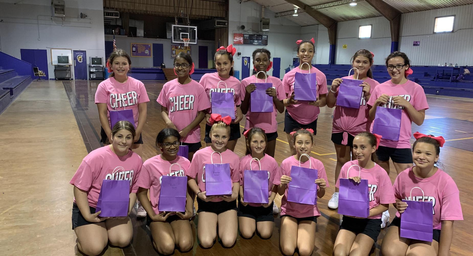 Varsity Cheerleaders 2019-2020