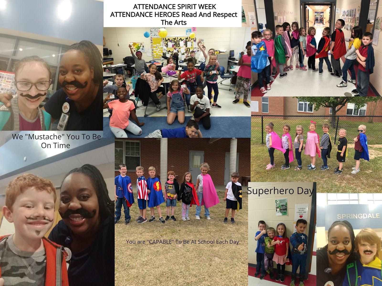 Attendance Heroes Week