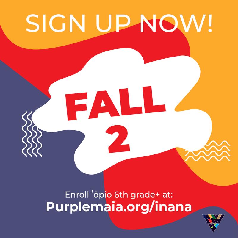 register for purple maia classes