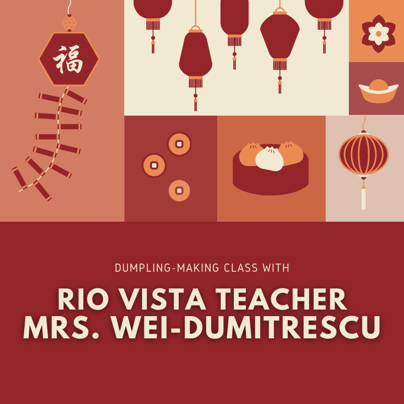 Flyer for Dumpling Making Class