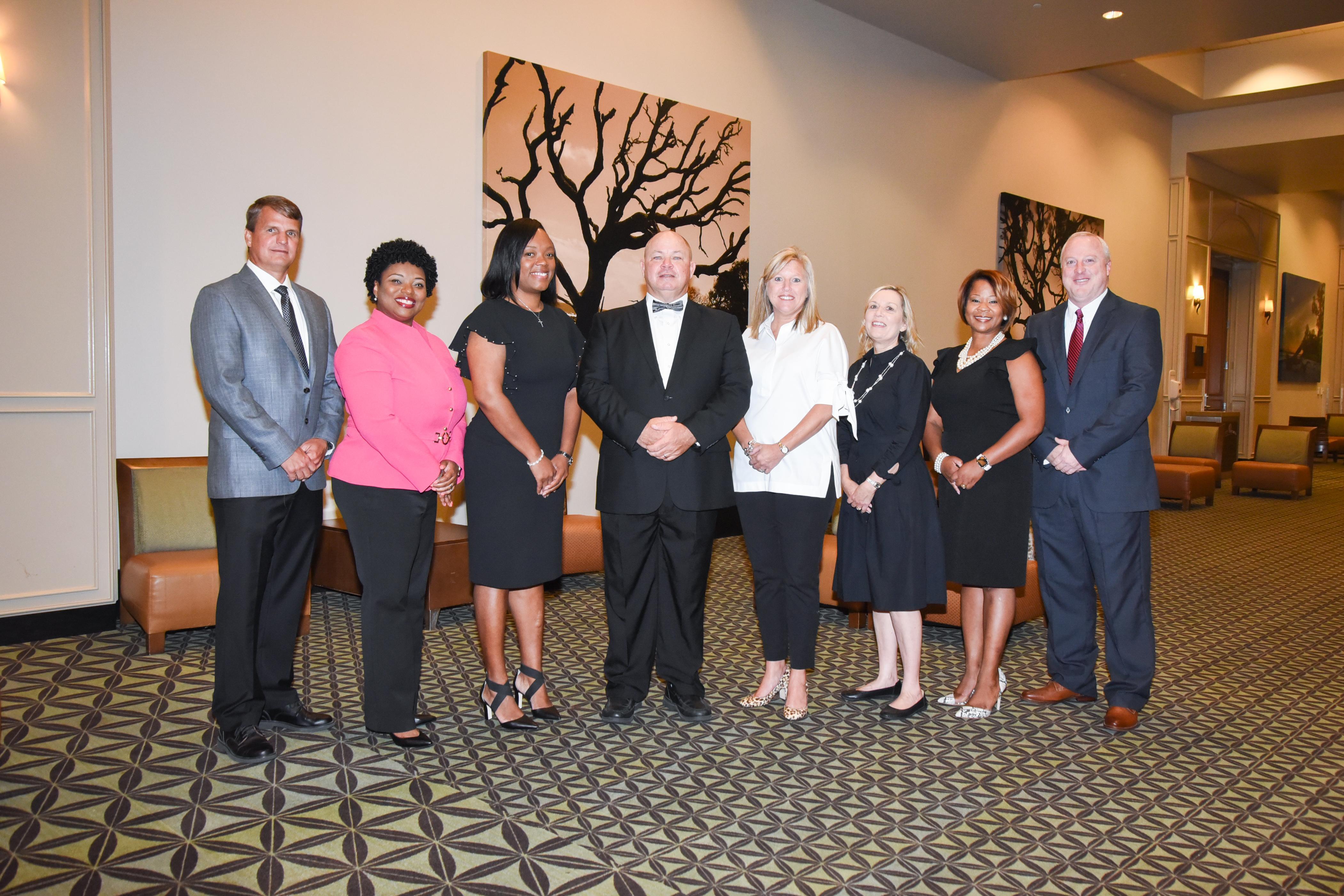 Glynn County Schools' Cabinet Members.