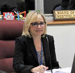 Photo of Westfield Public Schools Business Administrator Dana Sullivan