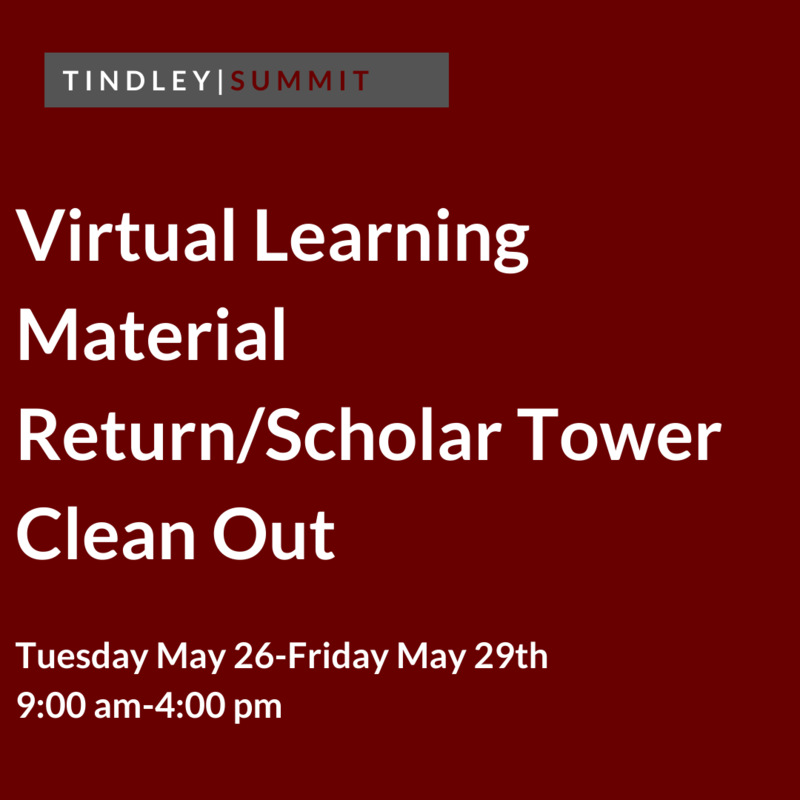 Virtual Learning Return and Scholar Tower Clean Out Featured Photo