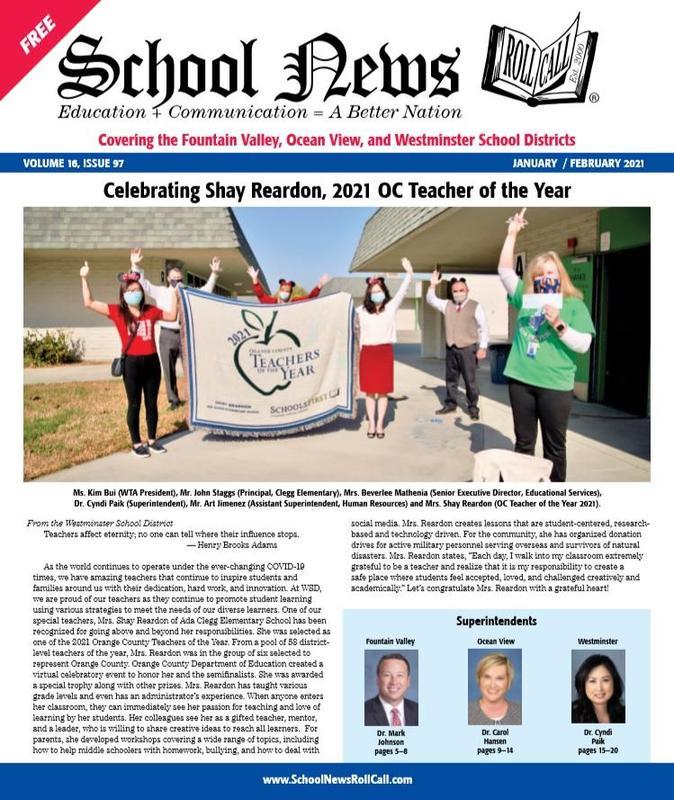 Shay Reardon, 2021 Orange County Employee of the Year